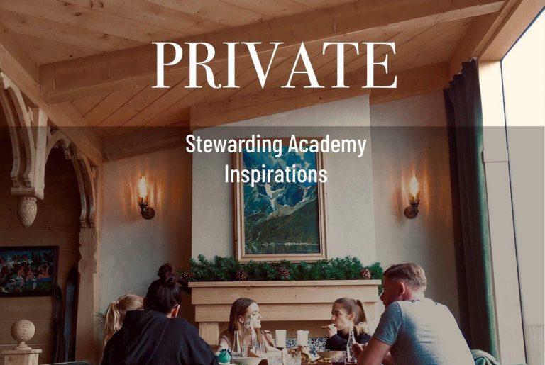 Stewarding acadaemy inspirations blog post