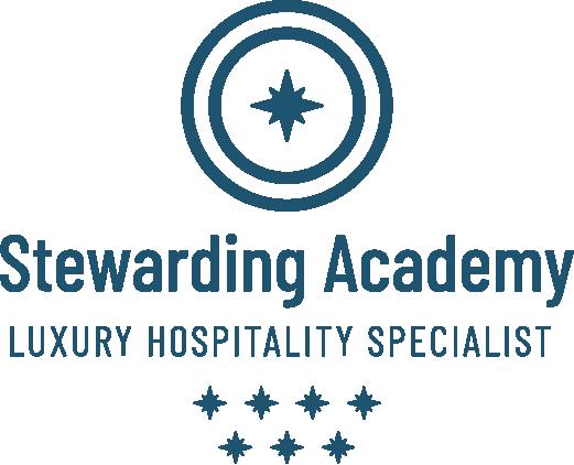 stewarding academy luxury hospitality specialist full logo